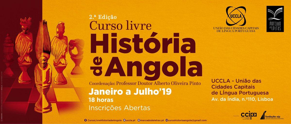 2.ª edição do Curso Livre da História de Angola