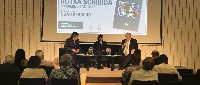 Apresentação do livro Rotxa Scribida de Nuno Rebocho na UCCLA