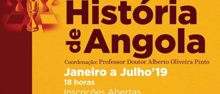 UCCLA vai acolher 2.ª edição do Curso Livre da História de Angola