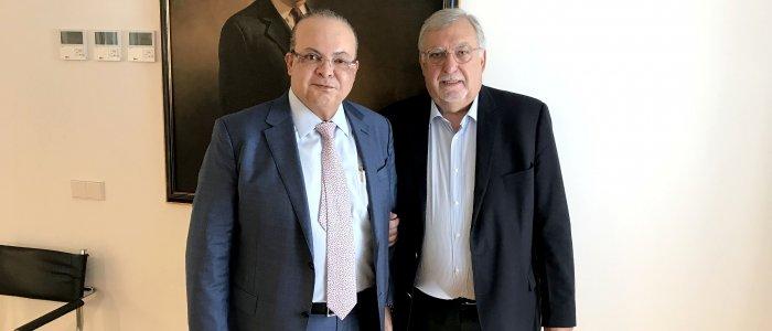 Reunião com o Governador do Distrito Federal de Brasília