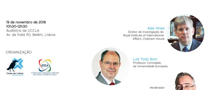"Lisbon Talk com o Debate ""Angola: que mudança?"""