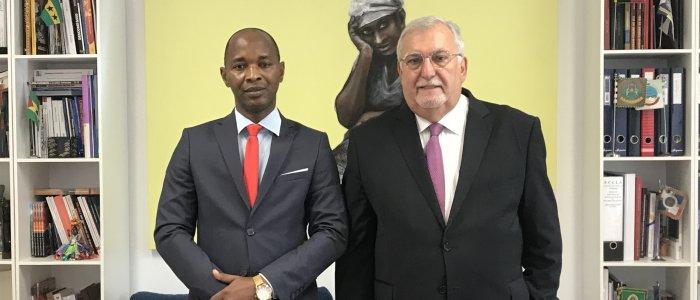 Encontro com Ministro da Administração Territorial e do Poder Local da Guiné-Bissau