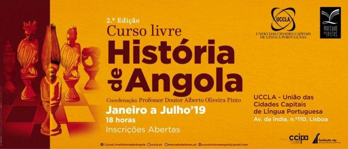UCCLA vai acolher 2.ª edição do Curso Livre História de Angola
