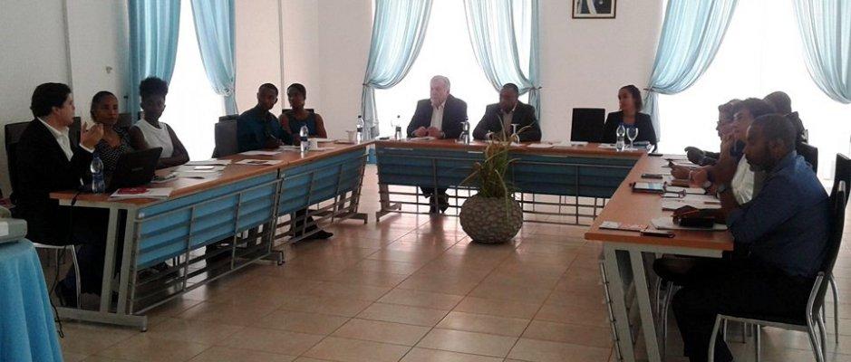 Reunião para a criação da Rede das Cidades Educadoras de Cabo Verde