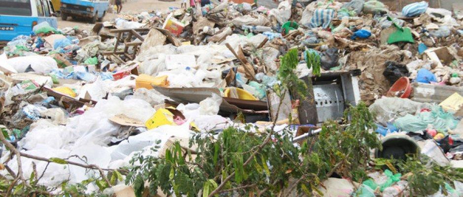 Novo modelo de recolha de lixo no Huambo