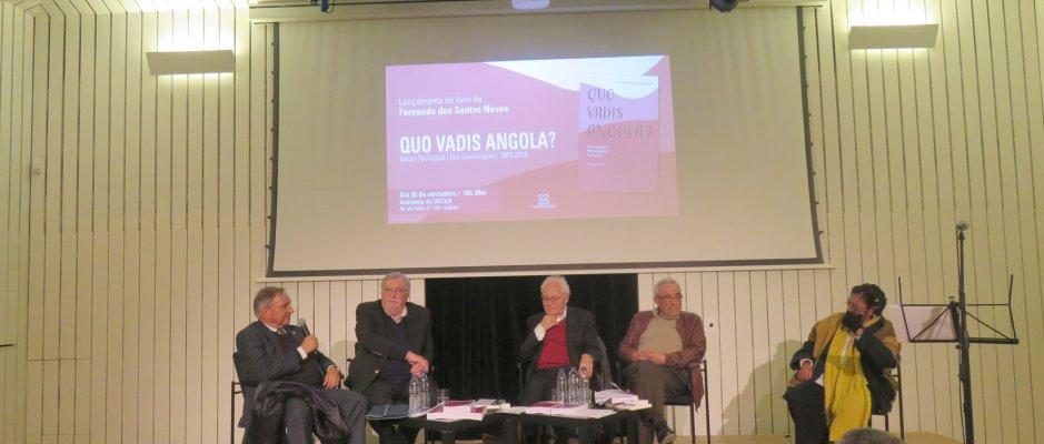 "Livro ""Quo Vadis Angola?"" apresentado na UCCLA"