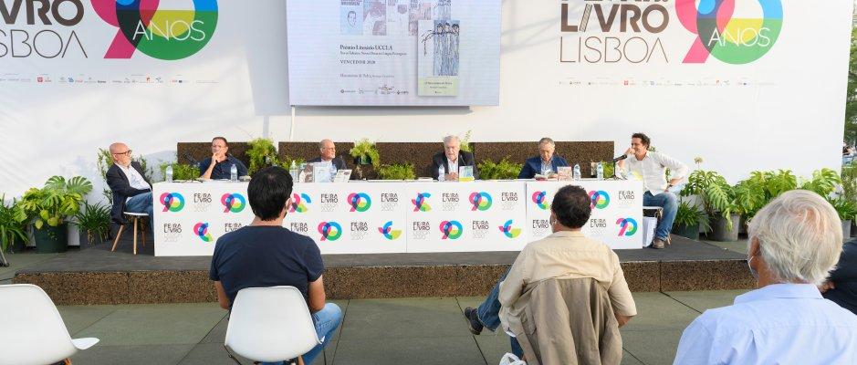 Apresentação do vencedor da 5.ª edição do Prémio Literário UCCLA