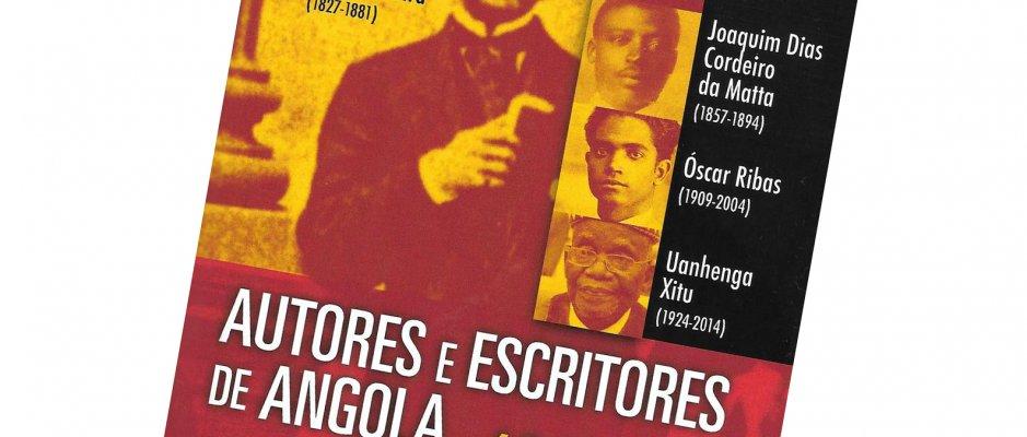 """Livro """"Autores e Escritores de Angola 1642-2018"""" de Tomás Lima Coelho"""