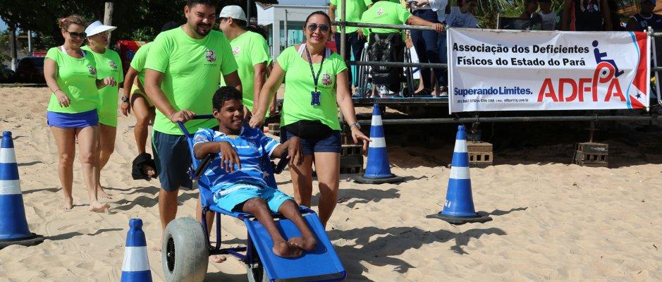 Projeto Praia Acessível em Belém
