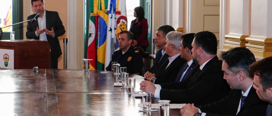 Porto Alegre vai integrar Sistema Nacional de Segurança