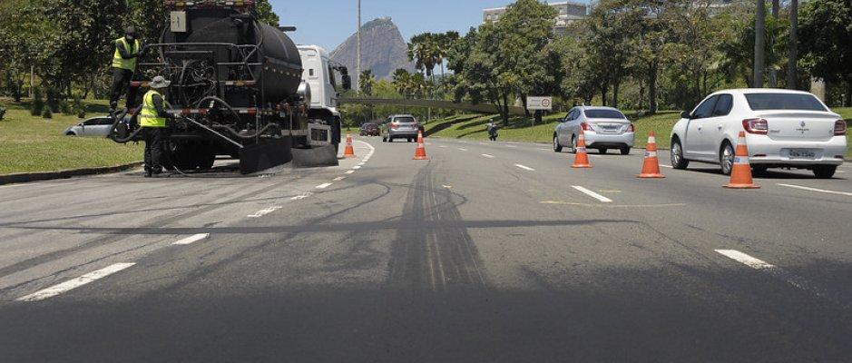 Recuperação de infraestruturas no Rio de Janeiro