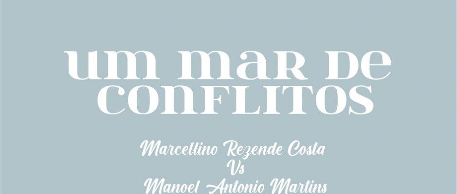 """Lançamento do livro """"Um mar de conflitos"""" de Daniel Pereira"""