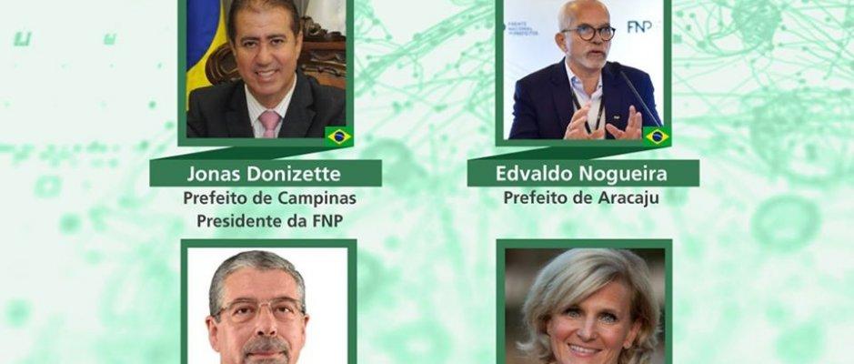 Troca de experiências no combate à Covid-19 entre presidente da Câmara de Coimbra e representante da Organização Mundial de Saúde