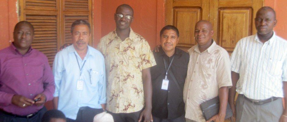 Timor-Leste e Nova Zelândia interessados no projeto UCCLA de Valorização da Apicultura nas Regiões de Bafatá e Gabu - Guiné-Bissau