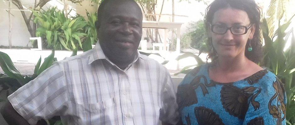 Encontro com futuro Presidente da Ilha Mocambique