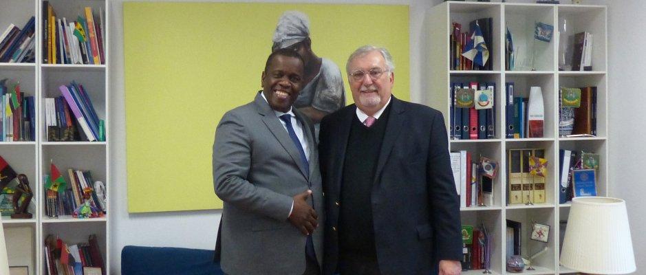 Encontro com Presidente Camara da Beira