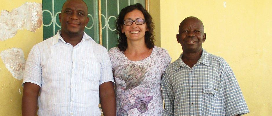 Reunião com nova direção de Educação da Ilha de Moçambique