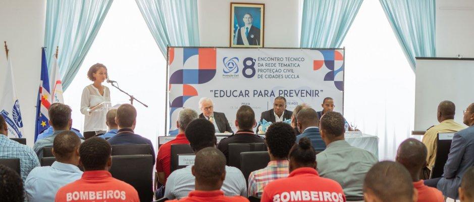 Encontro Técnico da Rede Temática Proteção Civil decorreu em Cabo Verde
