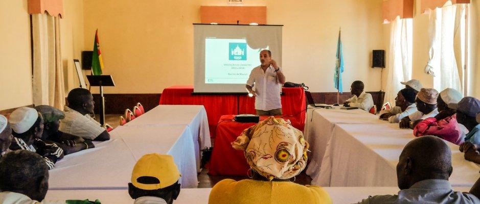 Encontro técnico de urbanismo na Ilha de Moçambique