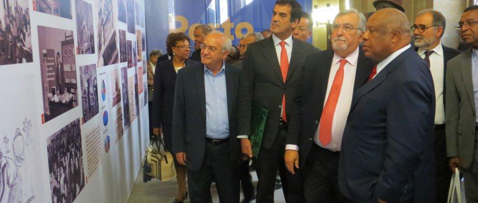Inauguração da exposição sobre a Casa dos Estudantes do Império na cidade do Porto