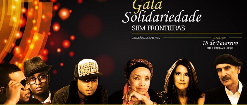 """Gala """"Solidariedade Sem Fronteiras"""""""