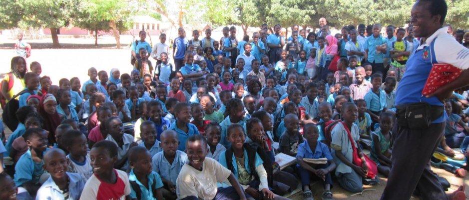 Contadores de histórias da Ilha de Moçambique