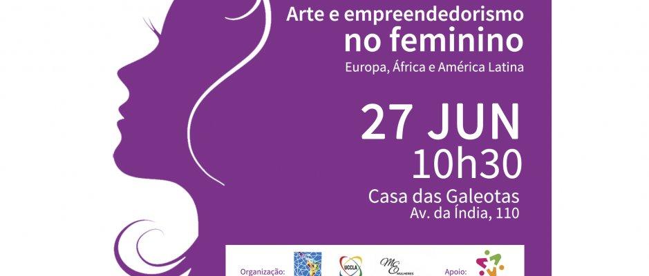 """Workshop """"Arte e Empreendedorismo no Feminino"""""""