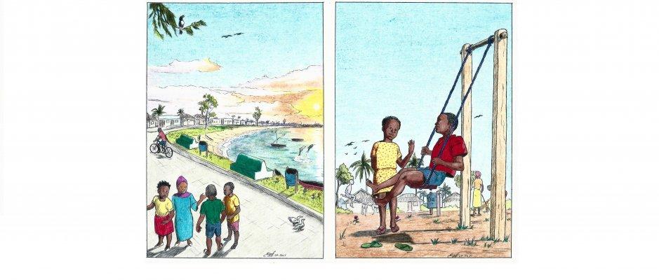 """Brochura """"Amigos do Ambiente - Nossa Casa, Nossa Ilha de Moçambique"""""""