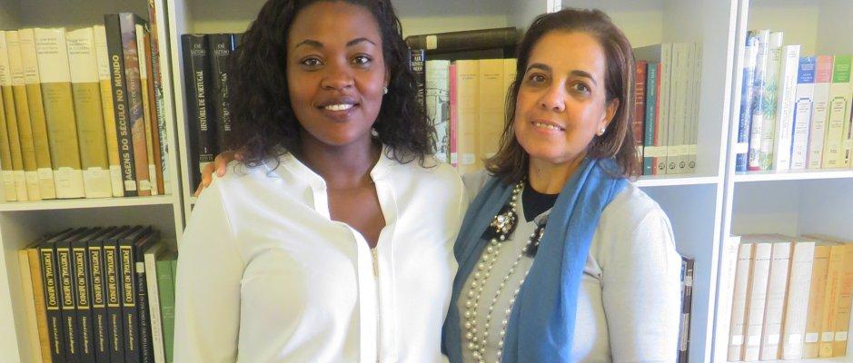 Reunião com Vereadora da Ribeira Grande de Santiago na UCCLA