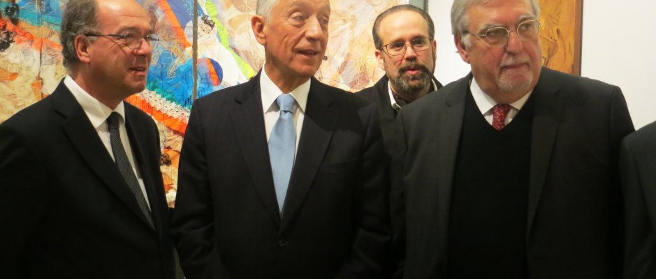 Presidente da República inaugura exposição na UCCLA