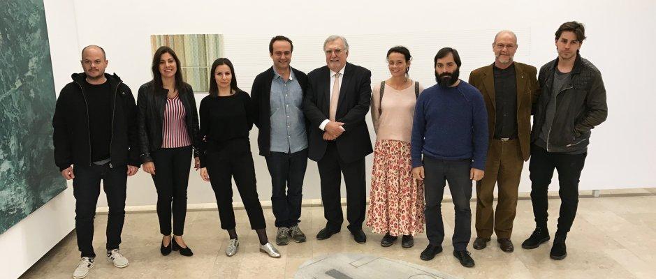 """Inauguração da exposição """"Do Que Permanece - Arte Contemporânea Brasil Portugal"""" na UCCLA"""