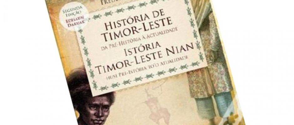 """Livro """"História de Timor-Leste"""" de Frederic Durand"""
