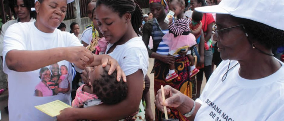 Campanha Nacional de Vacinação em Moçambique