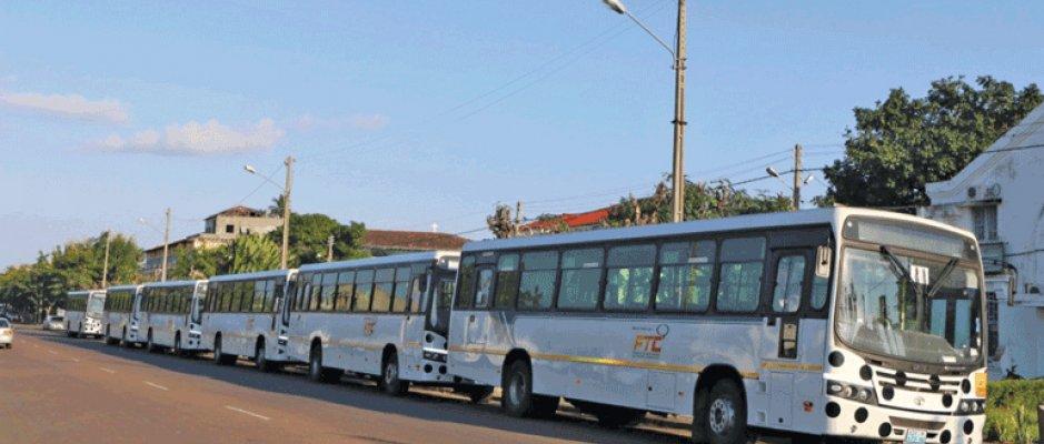 Inhambane recebe novos autocarros