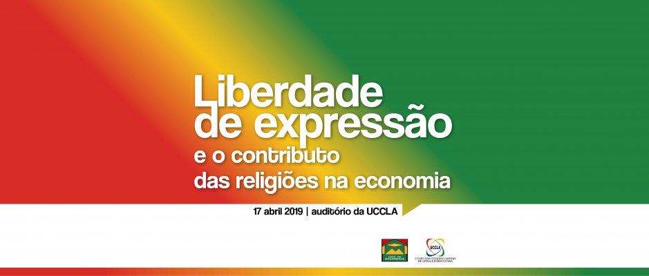 """Palestra """"Liberdade de expressão e o contributo das religiões na economia"""" na UCCLA"""