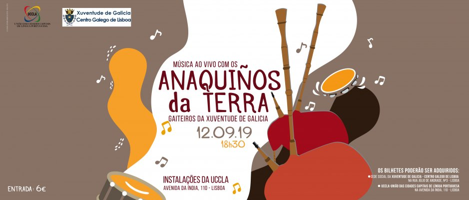Música da Galiza na UCCLA - Concerto dos Anaquiños da Terra