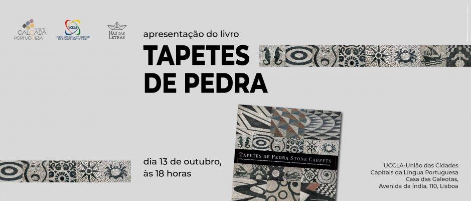"Obra ""Tapetes de Pedra"" será lançada na UCCLA"
