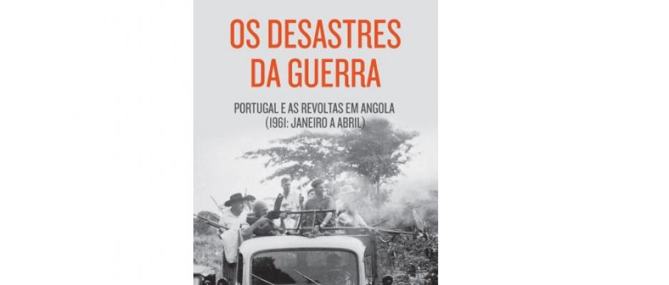 """Livro """"Os Desastres da Guerra"""" de Valentim Alexandre"""