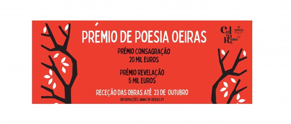 Câmara Municipal de Oeiras cria prémio de poesia da língua portuguesa
