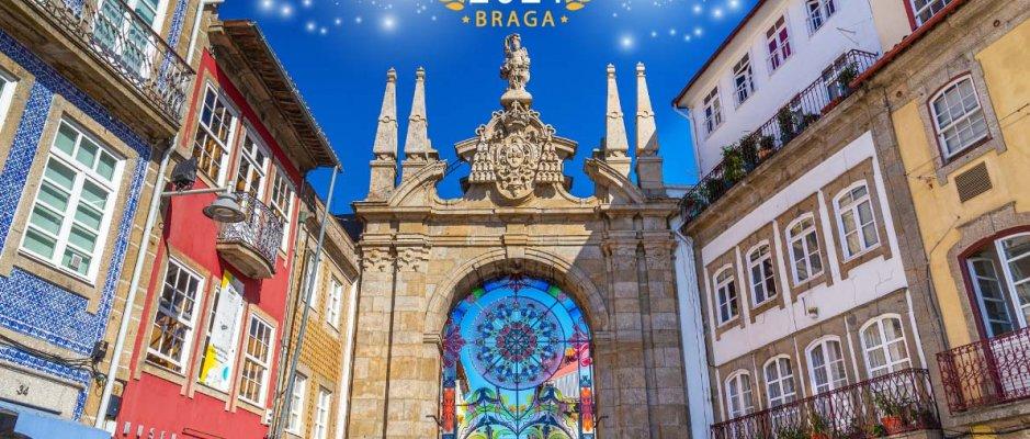 Braga eleita Destino Europeu de 2021