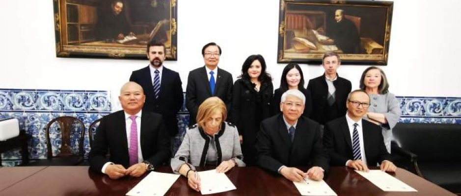 Cooperação entre a Universidade de Évora e a Universidade de Macau