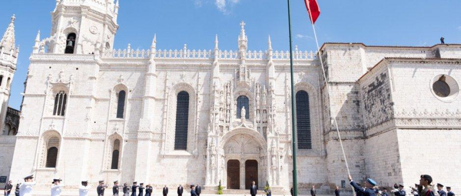 Cerimónias comemorativas do Dia de Portugal, de Camões e das Comunidades Portuguesas em Lisboa