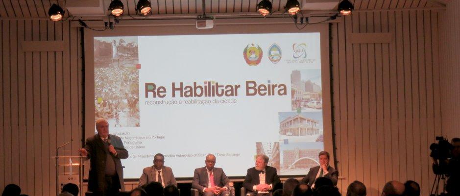Apresentação pública da reconstrução e reabilitação da cidade da Beira na UCCLA