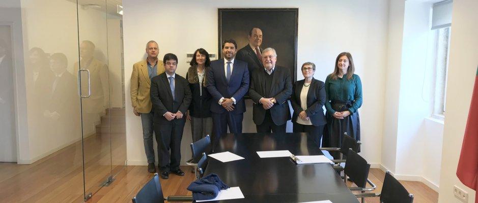 Reunião com membros da Rede Intermunicipal de Cooperação para o Desenvolvimento
