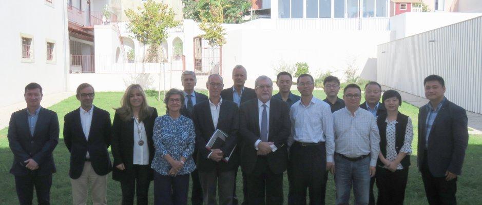 Reunião técnica com delegação chinesa de Suzhou