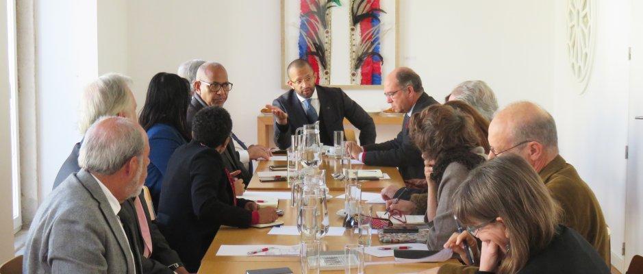 Encontro com Ministro da Cultura de Cabo Verde