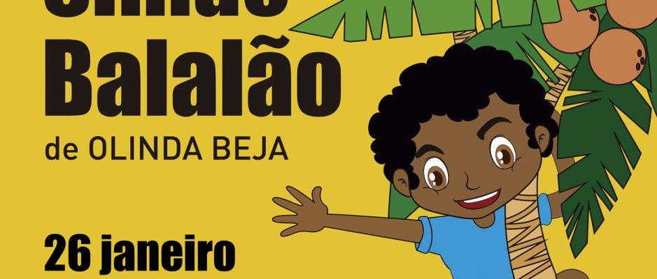 """Lançamento do livro infantil """"Simão Balalão"""" de Olinda Beja na UCCLA"""