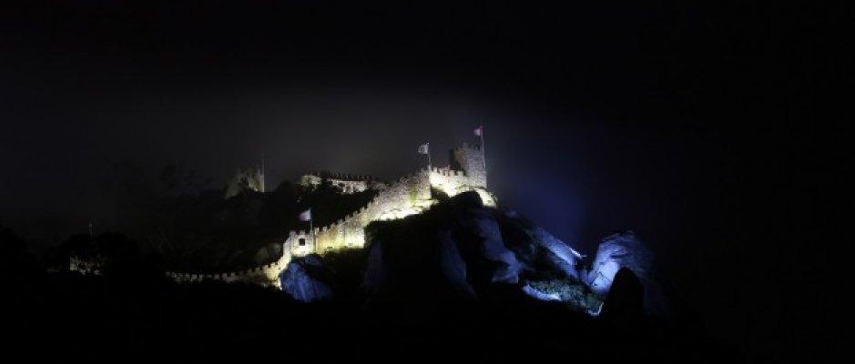 Castelo dos Mouros com nova iluminação