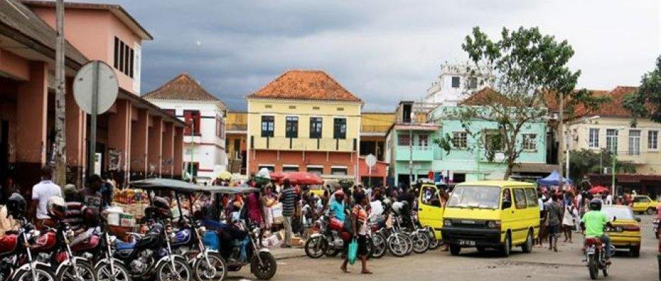 Reabilitação de estradas em São Tomé e Príncipe