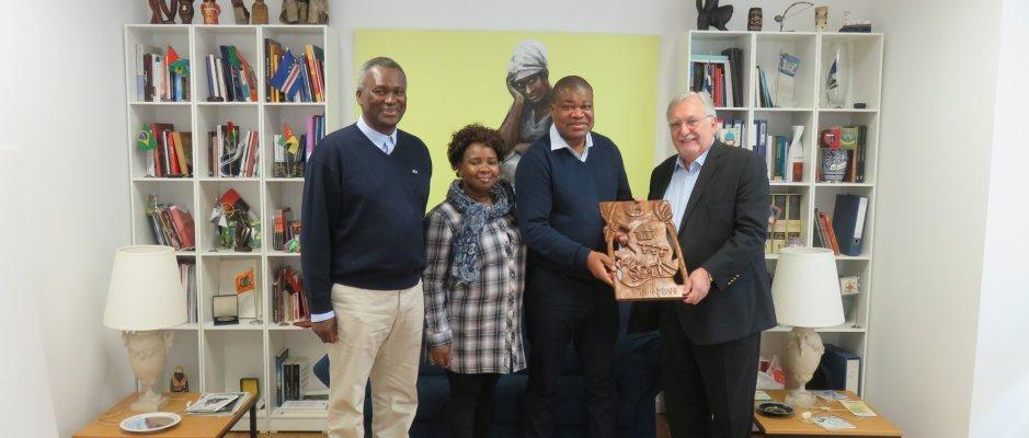 Visita do presidente da Câmara de Inhambane